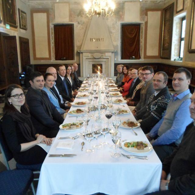 Asociacijos narių šventiniai pietūs pasitinkant 2016-uosius